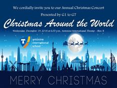 G1 to G7: Christmas Around the World at 18:00